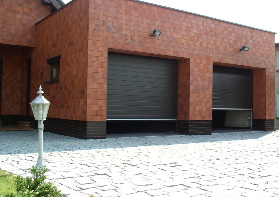 Rolovacie priemyselné garážové brány